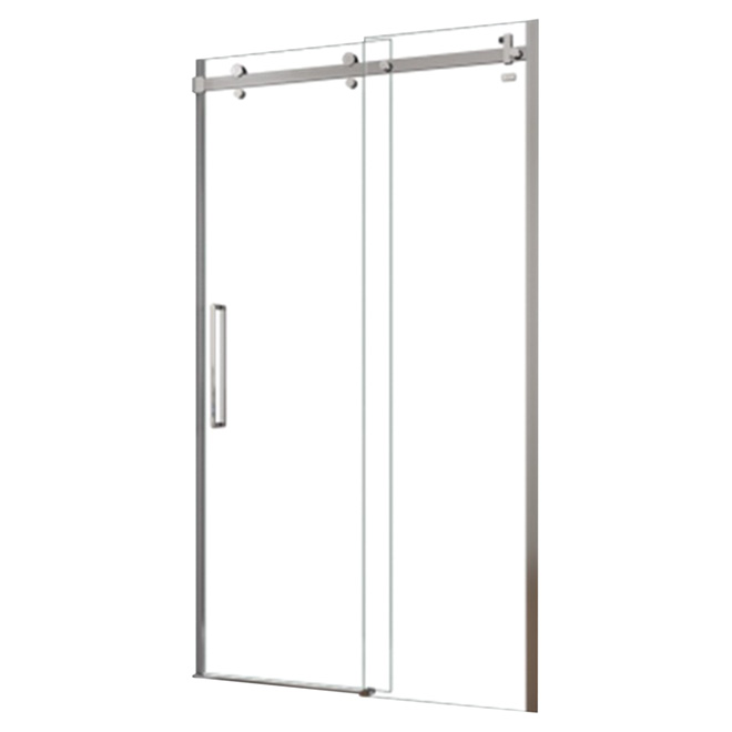 MAAX Halo Frameless Sliding Shower Door - 48