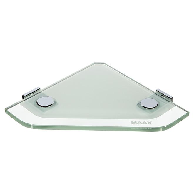 tablette de coin en verre pour la douche rona. Black Bedroom Furniture Sets. Home Design Ideas