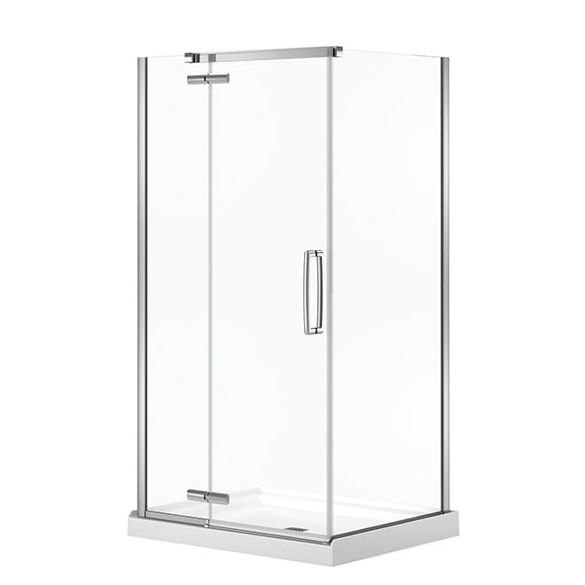 Maax Hana Shower Door - Frameless - Chrome