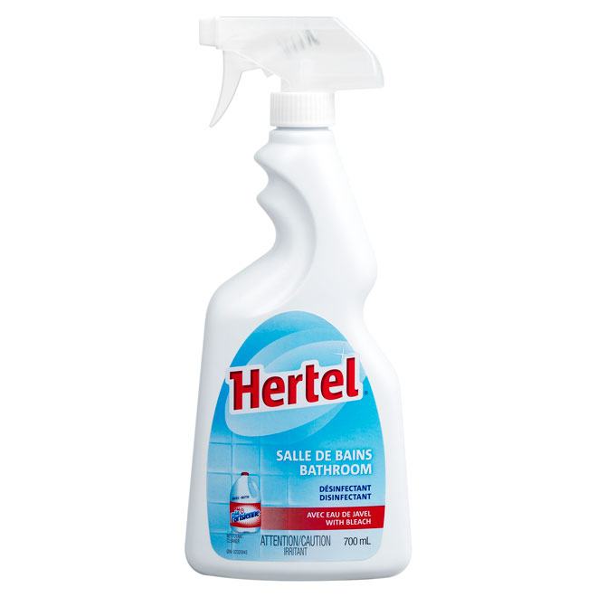 Bathroom Cleaner with Disinfecting Bleach 700 mL
