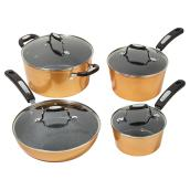 Starfrit Rock Cookware Kit - 8 Pieces - Copper