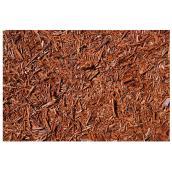 Paillis de cèdre rouge de l'Ouest de qualité supérieure