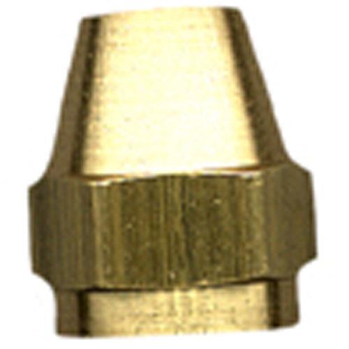 "Short Rod Flare Nut - Brass - 45° - 3/8"""