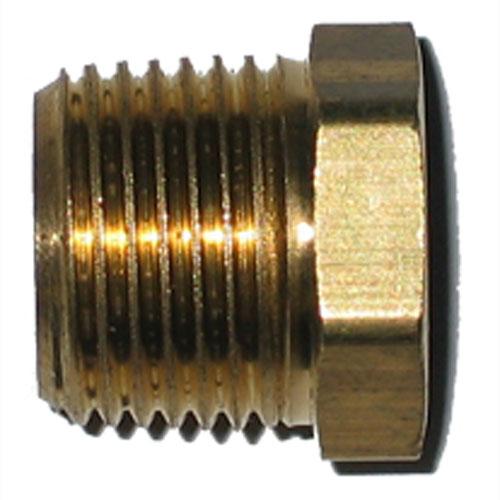 "Hex Bushing - Brass - 1/2"" x 1/4"" - MIP x FIP"