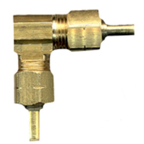 """Elbow - Brass - 90° - 3/8"""" x 3/8"""" - Tube x Tube"""