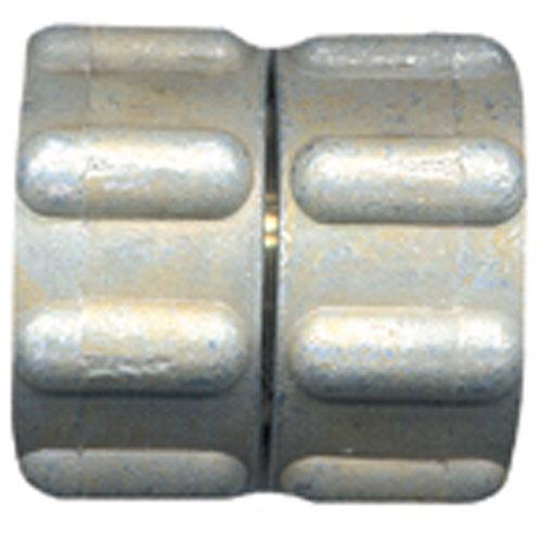 "Hose Connector - Brass - 3/4"" x 3/4"" - Female x Female"
