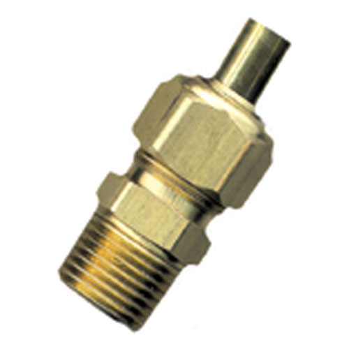 "Union - Brass - 3/8"" x 1/2"" - Tube x MIP"