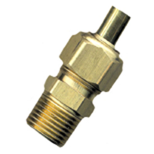 "Union - Brass - 5/8"" x 1/2"" - Tube x MIP"