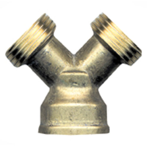 "Hose Connector - 3-Way - 3/4"" - Male x Male x Female"