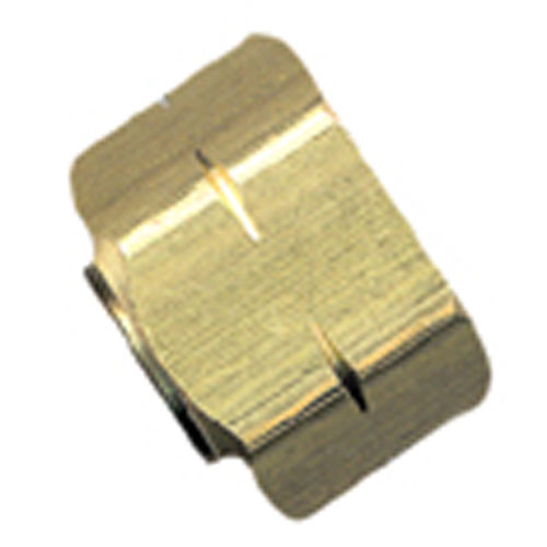 Compression Nut with Insert - Brass - 3/8""