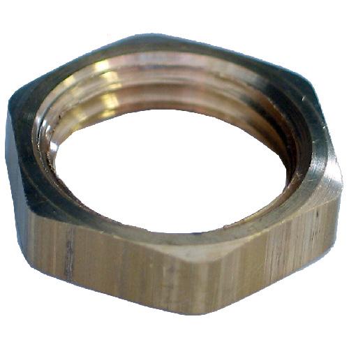 "Locknut - Brass - 1/2"" - FIP"