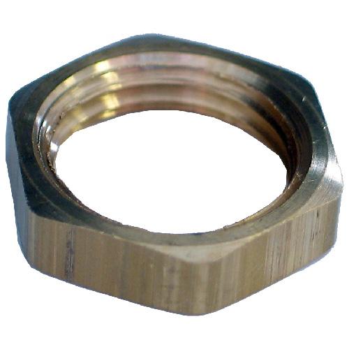 "Locknut - Brass - 3/4"" - FIP"