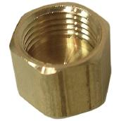 Compression Cap - Brass - 1/4