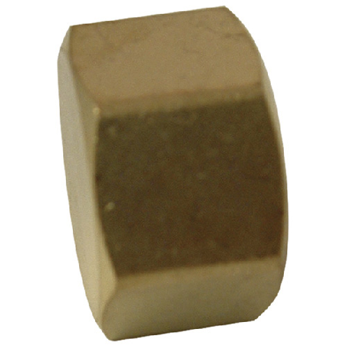 Compression Cap - Brass - 3/8""