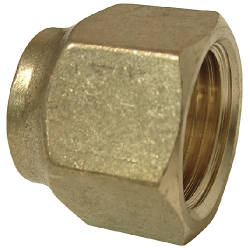 """Short Forged Flare Nut - Brass - 45° - 1/2"""""""