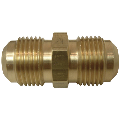 "Flare Union - Brass - 1/2"" x 1/2"" - Flare x Flare"