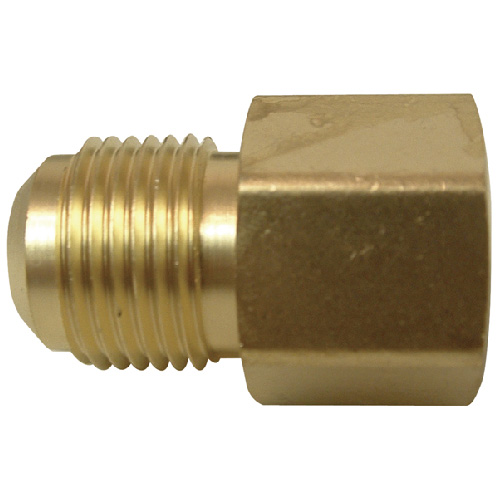 """Flare Coupling - Brass - 1/2"""" x 1/2"""" - Flare x FIP"""