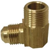 Flare Elbow - Brass - 45° - 1/2