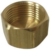 Compression Cap - Brass - 5/8