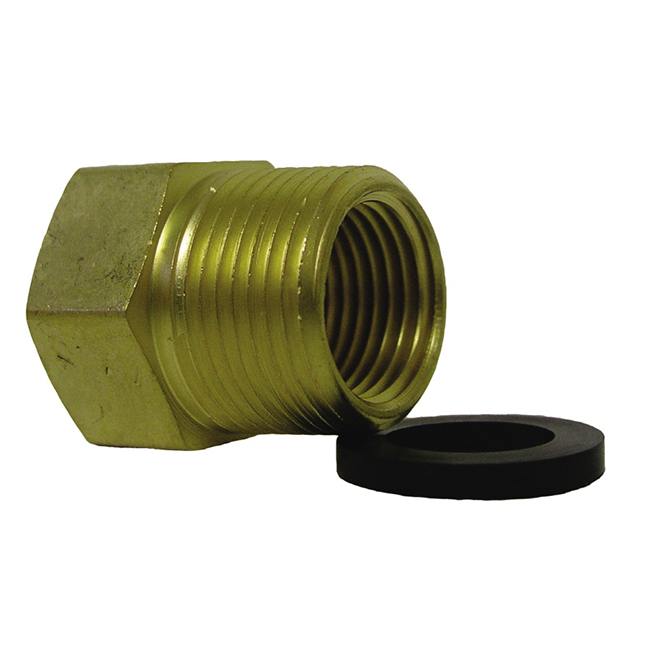 "Garden Hose Fitting - 3/4"" x 3/4"" - Female x MIP"
