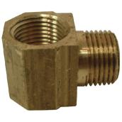 Street Elbow - Brass - 90° - 1/8