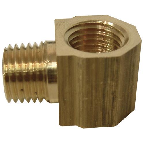 """Street Elbow - Brass - 90° - 1/4"""" x 1/4"""" - MIP x FIP"""