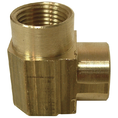 "Elbow - Brass - 90° - 3/8"" x 3/8"" - FIP x FIP"