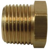 Hex Bushing - Brass - 3/8