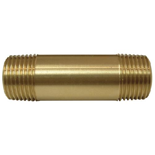"""Nipple - Brass - 1/2"""" x 2 1/2"""" - MIP x MIP"""