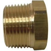 Hex Bushing - Brass - 3/4