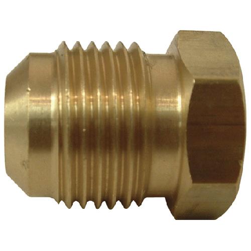 """Flare Plug - Brass - 45° - 1/2"""""""
