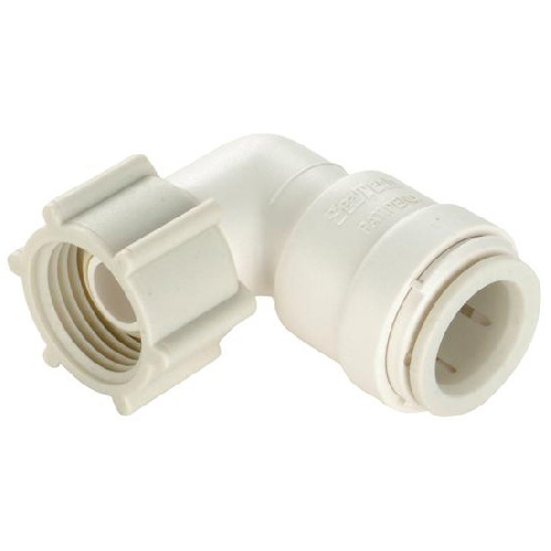 """Female 90° Elbow - Plastic - Quick Connect - 1/2"""" CTS"""