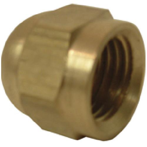 "Flare Cap - Brass - 45° - 5/8"""