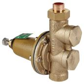 Water Pressure Reducing Valve - Lead-Free Brass - 1/2