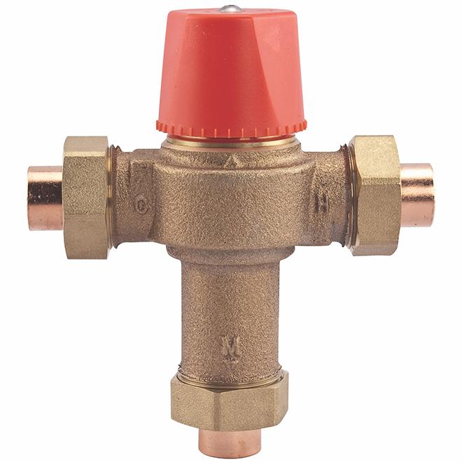 Watts L1170 Temperature Control Valve - Brass - 1/2-in