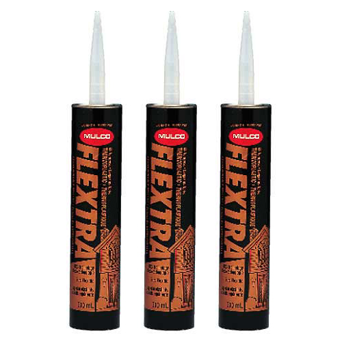 Exterior Thermoplastic Sealant 300ml - Glacier White - Pack of 3