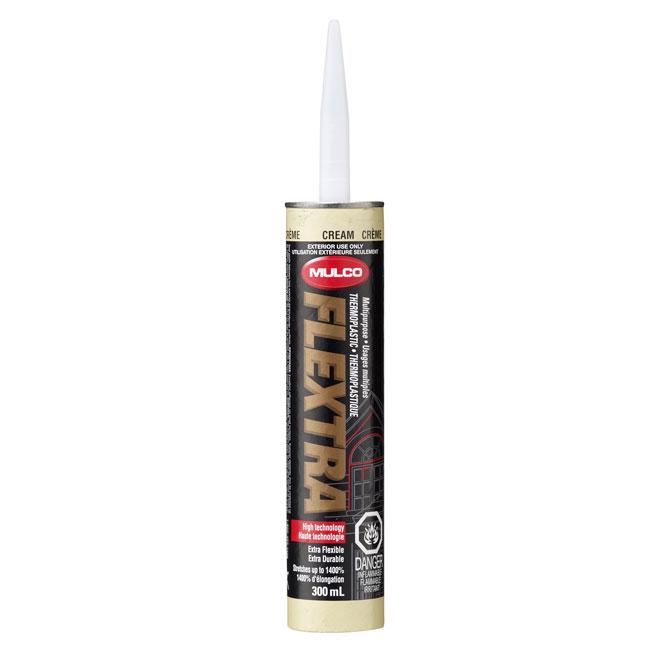 Scellant thermoplastique extérieur 300ml, crème