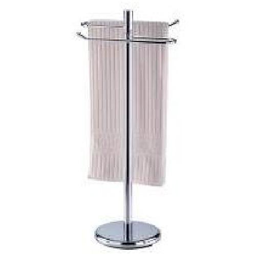 Pedestal towel holder