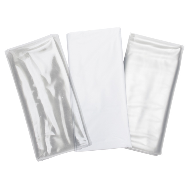 Doublure pour rideau de douche Taymor, plastique, blanc