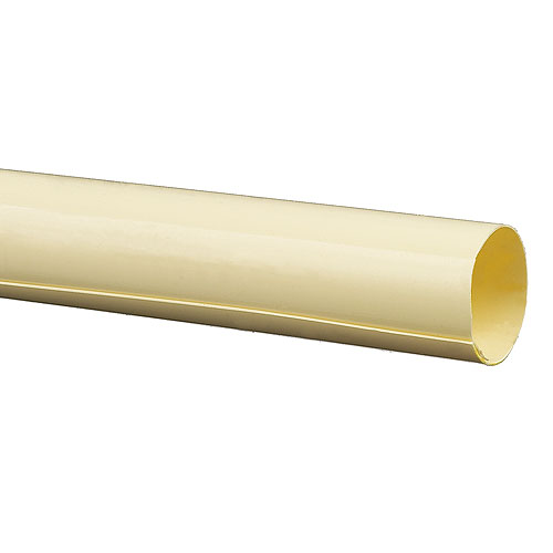 Shower Rod Cover - Plastic - 59'' - Almond