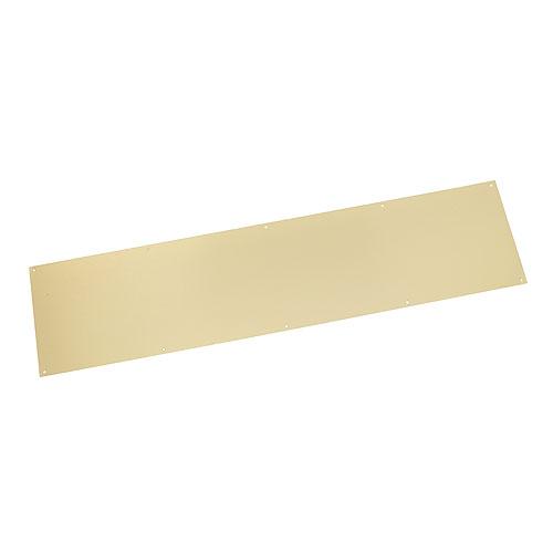 """Polished Brass Finish Kick Plate - 34"""" x 8"""""""