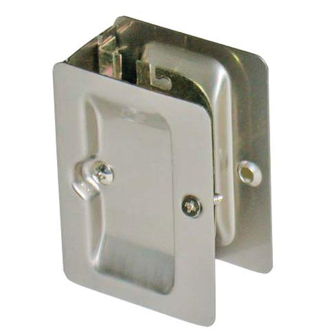Privacy Sliding Door Lock   Polished Chrome