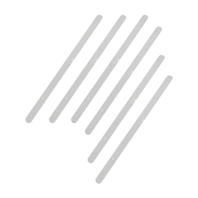 EMBOSSED PVC TAPE PK/6