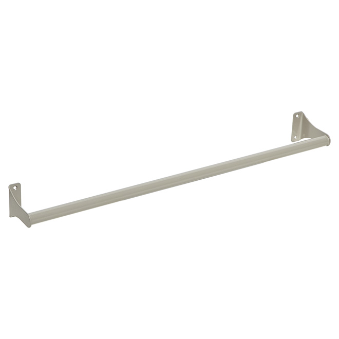 "Towel Holder - ""Chroma"" Towel Bar 24"" - Modern Grey"