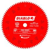 Circular Saw Blade - Carbide - Finishing - 80 TH - 12""