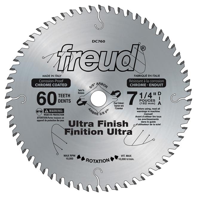 7 1/4-in Ultra Finishing Saw Blade