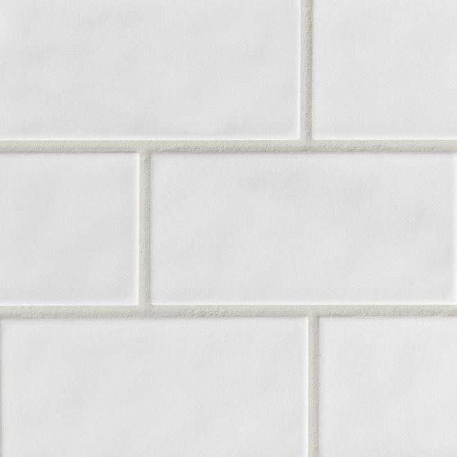 Coulis pour mur «KER 800» 4,54kg - Blanc
