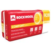 Rockwool R28 ComfortBatt Insulation - 7.25-in x 23-in x 47-in - 30 sq.ft - Green
