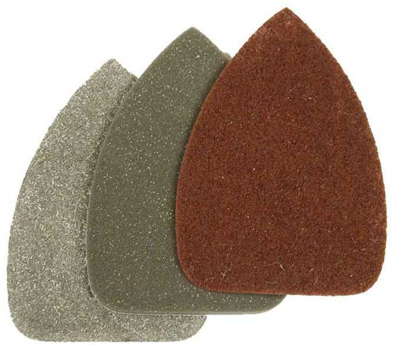 Polishing Kit for Detail Sander - 3 Buffing Pads