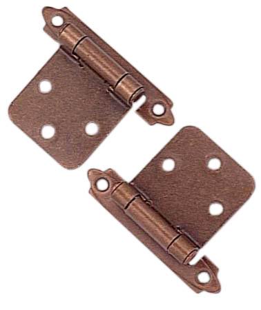 Penture à ressort en paquet de 2, cuivre antique